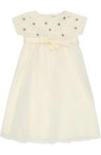 Il Gufo | Платье с декоративной отделкой Il Gufo | Clouty