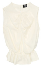 Armani Junior | Шелковая блуза с оборками Armani Junior | Clouty