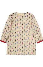 Armani Junior | Платье из вискозы с принтом Armani Junior | Clouty