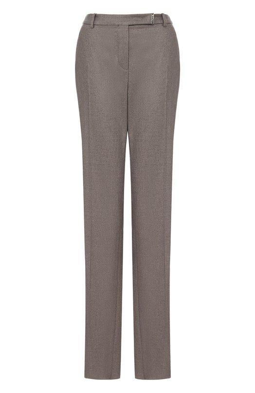 Loro Piana | Темно-бежевый Расклешенные кашемировые брюки со стрелками Loro Piana | Clouty