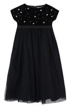 Il Gufo | Платье с завышенной талией и декором Il Gufo | Clouty