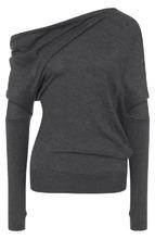 Tom Ford   Кашемировый пуловер с открытым плечом Tom Ford   Clouty