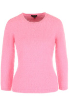 Escada | Приталенный пуловер с укороченным рукавом Escada | Clouty