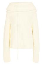 JOSEPH | Шерстяной свитер фактурной вязки с объемным воротником Joseph | Clouty