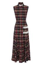 Alessandra Rich | Приталенное буклированное платье-миди Alessandra Rich | Clouty