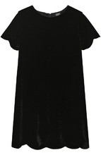 Armani Junior | Платье прямого кроя с фигурной отделкой Armani Junior | Clouty