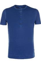 120% Lino | Льняная футболка хенли 120% Lino | Clouty