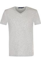 POLO RALPH LAUREN | Хлопковая футболка с V-образным вырезом Polo Ralph Lauren | Clouty