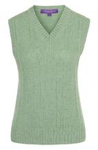 Ralph Lauren | Жилет из смеси льна и кашемира с V-образным вырезом Ralph Lauren | Clouty