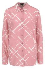 Escada | Шелковая блуза прямого кроя с принтом Escada | Clouty
