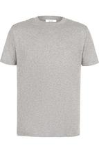 VALENTINO   Хлопковая футболка с отделкой Valentino   Clouty