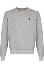 POLO RALPH LAUREN | Хлопковый свитшот с логотипом бренда Polo Ralph Lauren | Clouty