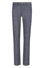 120% Lino | Льняные джинсы прямого кроя 120% Lino | Clouty