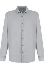 120% Lino | Льняная рубашка с воротником акула 120% Lino | Clouty