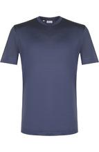 Brioni | Шелковая футболка с круглым вырезом Brioni | Clouty