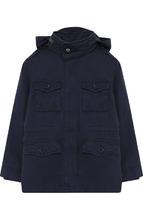 POLO RALPH LAUREN | Текстильная куртка с подстежкой и капюшоном Polo Ralph Lauren | Clouty