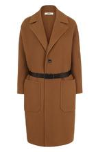 Bally   Шерстяное пальто с накладными карманами и поясом Bally   Clouty