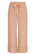 Bally   Укороченные шелковые брюки с пижамном стиле Bally   Clouty