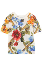 Dolce & Gabbana | Хлопковая футболка с принтом Dolce & Gabbana | Clouty