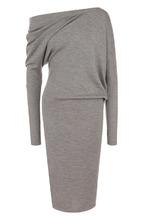 Tom Ford | Кашемировое платье-миди с открытым плечом Tom Ford | Clouty