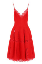 GIVENCHY | Приталенное вязаное платье-миди Givenchy | Clouty