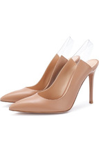 Gianvito Rossi | Кожаные туфли Eva на шпильке Gianvito Rossi | Clouty