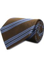 LANVIN | Шелковый галстук в полоску Lanvin | Clouty