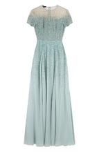 Escada | Приталенное шелковое платье-макси Escada | Clouty