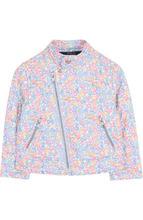 POLO RALPH LAUREN | Текстильная куртка с косой молнией и воротником-стойкой Polo Ralph Lauren | Clouty
