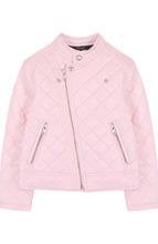 POLO RALPH LAUREN | Стеганая куртка с косой молнией и воротником-стойкой Polo Ralph Lauren | Clouty
