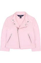 POLO RALPH LAUREN | Стеганая текстильная куртка с косой молнией и воротником-стойкой Polo Ralph Lauren | Clouty