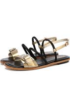 Tod's | Кожаные сандалии с ремешками Tod's | Clouty