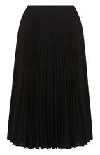 Bally   Однотонная плиссированная юбка-миди Bally   Clouty