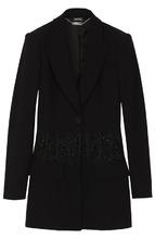 Alexander McQueen | Удлиненный жакет с декоративной вышивкой Alexander McQueen | Clouty