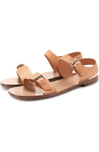 Mansur Gavriel | Кожаные сандалии с пряжками Mansur Gavriel | Clouty