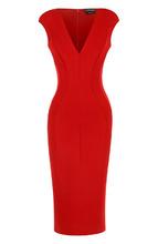 Tom Ford | Платье-футляр с V-образным вырезом Tom Ford | Clouty