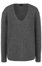 Tom Ford   Пуловер фактурной вязки с V-образным вырезом Tom Ford   Clouty