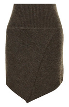 Isabel Marant Étoile | Шерстяная мини-юбка асимметричного кроя Isabel Marant Etoile | Clouty