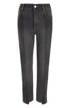 Isabel Marant Étoile | Укороченные джинсы прямого кроя с потертостями Isabel Marant Etoile | Clouty