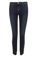 Frame Denim | Укороченные джинсы-скинни с потертостями Frame Denim | Clouty
