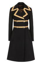 Dolce & Gabbana | Двубортное шерстяное пальто с декоративной отделкой Dolce & Gabbana | Clouty