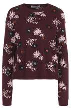 VALENTINO | Пуловер с принтом и круглым вырезом Valentino | Clouty