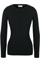 Weill | Пуловер фактурной вязки с круглым вырезом Weill | Clouty