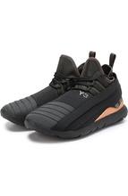 Y-3 | Текстильные кроссовки с фактурной отделкой Y-3 | Clouty