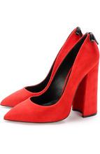 Aleksander Siradekian | Замшевые туфли Monroe на устойчивом каблуке Aleksandersiradekian | Clouty
