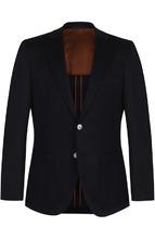 BOSS | Шерстяной однобортный пиджак BOSS | Clouty