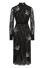 Erdem | Приталенное кружевное платье-миди Erdem | Clouty