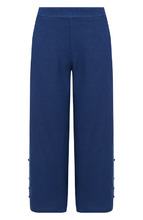 120% Lino | Однотонные льняные брюки с карманами 120% Lino | Clouty
