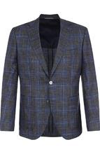 BOSS | Однобортный пиджак из смеси шерсти и шелка BOSS | Clouty