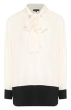 Escada | Блуза прямого кроя с воротником аскот Escada | Clouty